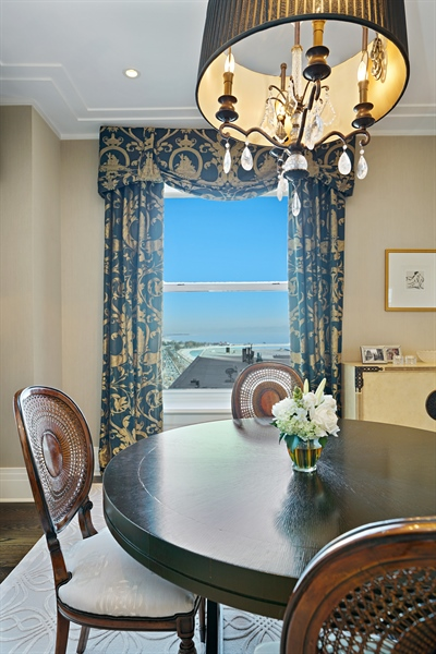 Real Estate Photography - 159 E Walton Pl, Unit 13A, Chicago, IL, 60610 - Dining Room
