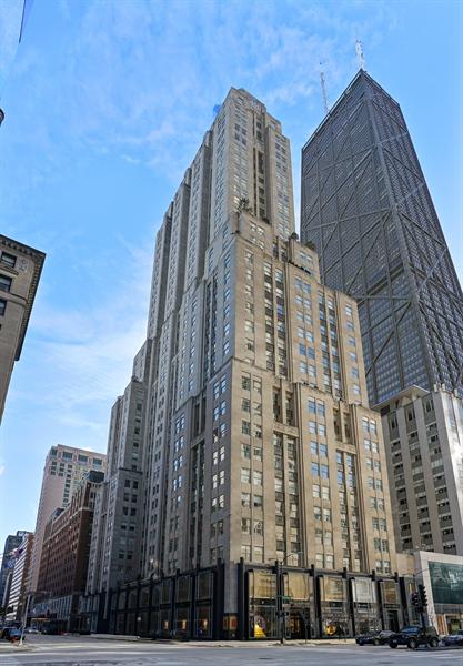 Real Estate Photography - 159 E Walton Pl, Unit 13A, Chicago, IL, 60610 - Front View