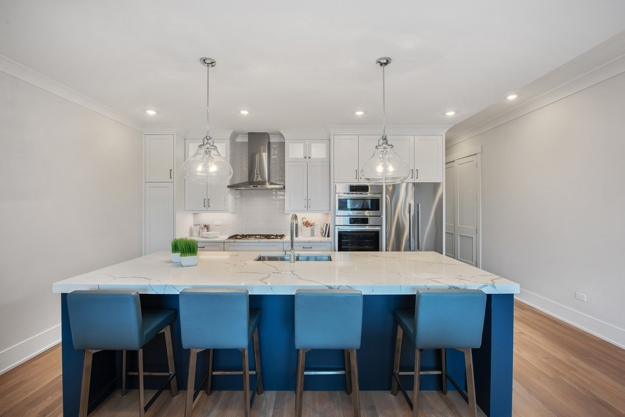 Real Estate Photography - 2751 W Lawrence, 2e, Chicago, IL, 60618 - Kitchen