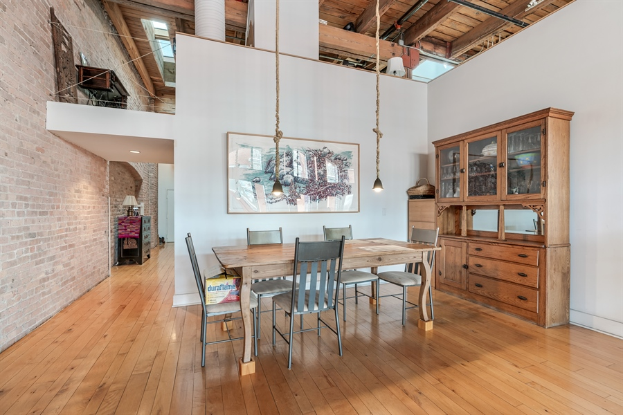 Real Estate Photography - 400 S Green St, 518, Chicago, IL, 60607 - Dining Room