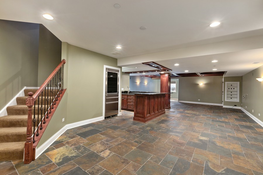 Real Estate Photography - 512 Stone Canyon Cir, Inverness, IL, 60010 - Play / Recreational Room