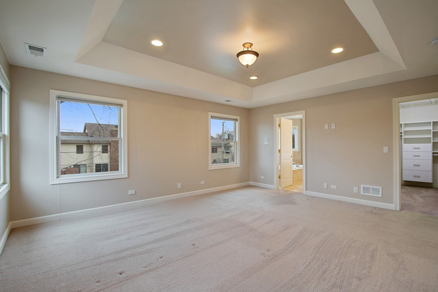 Real Estate Photography - 846 W Brookside St, Palatine, IL, 60067 - Master Bedroom