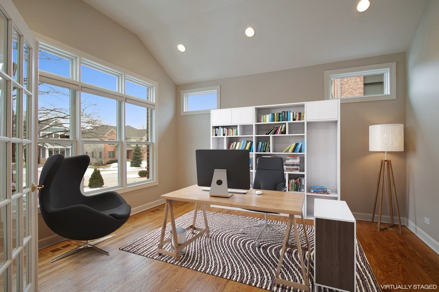 Real Estate Photography - 846 W Brookside St, Palatine, IL, 60067 - Office