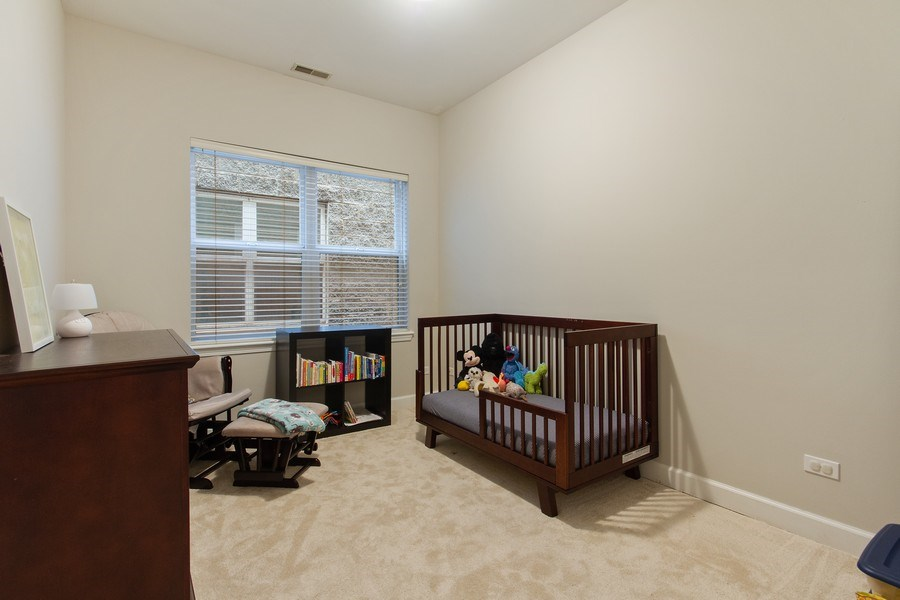 Real Estate Photography - 2352 W Bloomingdale, 3W, Chicago, IL, 60647 - Bedroom