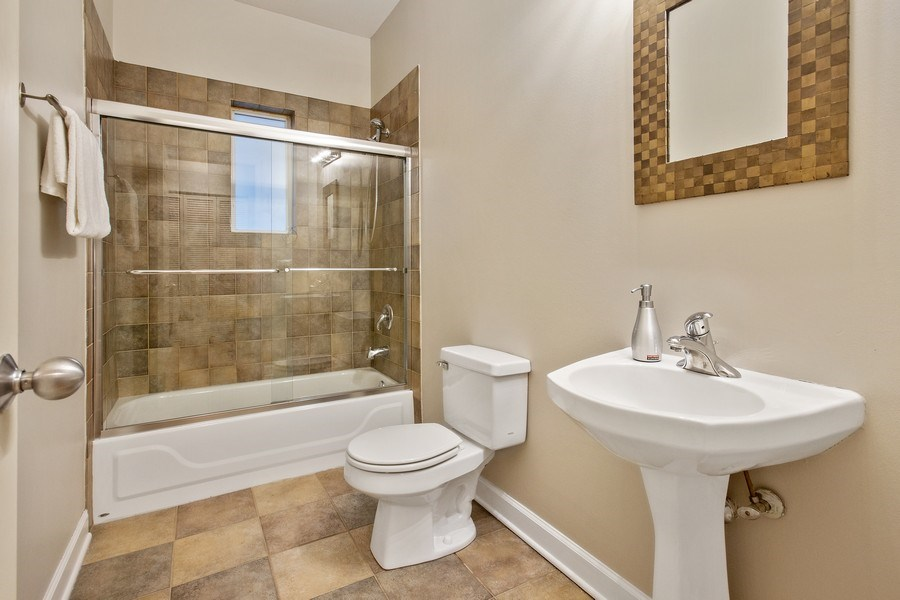 Real Estate Photography - 2352 W Bloomingdale, 3W, Chicago, IL, 60647 - Bathroom