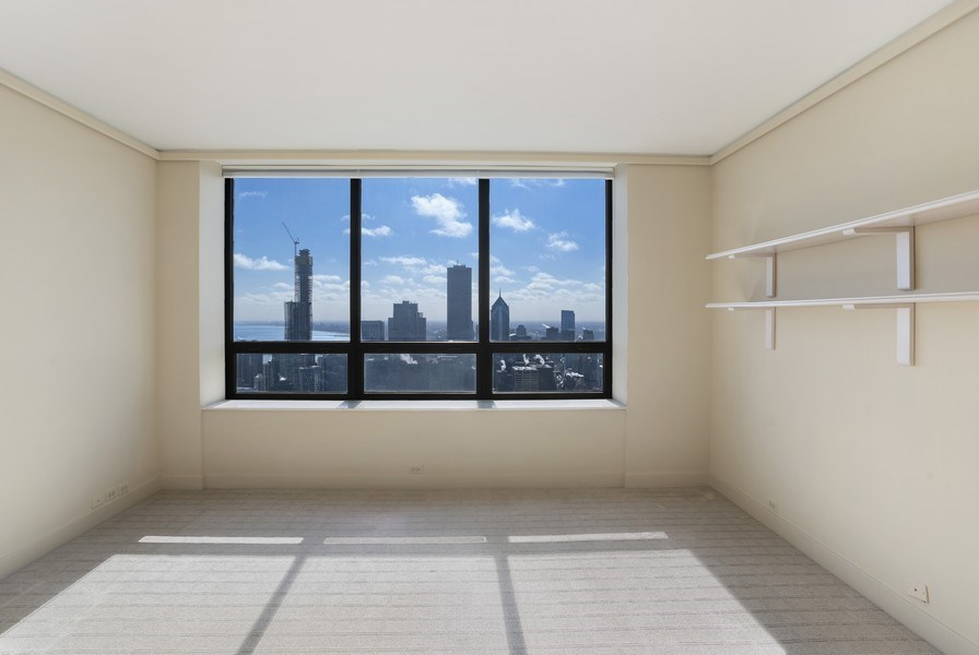 Real Estate Photography - 180 E Pearson, #6704-05, Chicago, IL, 60611 - 2nd Bedroom