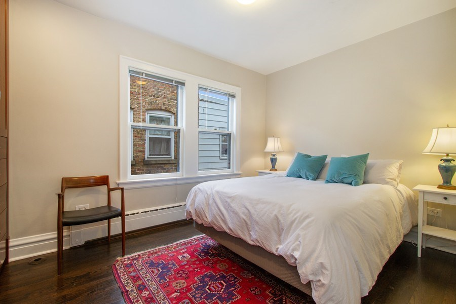 Real Estate Photography - 226 S. Kenilworth Ave, Oak Park, IL, 60302 - Bedroom #3 - 2nd Floor