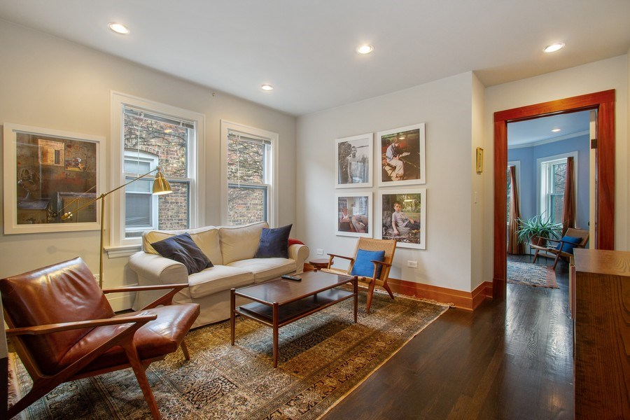 Real Estate Photography - 226 S. Kenilworth Ave, Oak Park, IL, 60302 - 2nd Floor Family Room