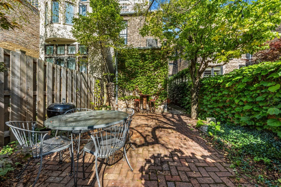 Real Estate Photography - 57 W Burton Place, Chicago, IL, 60610 - Back Yard