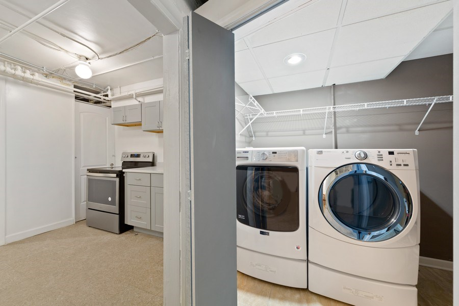 Real Estate Photography - 57 W Burton Place, Chicago, IL, 60610 - Laundry Room