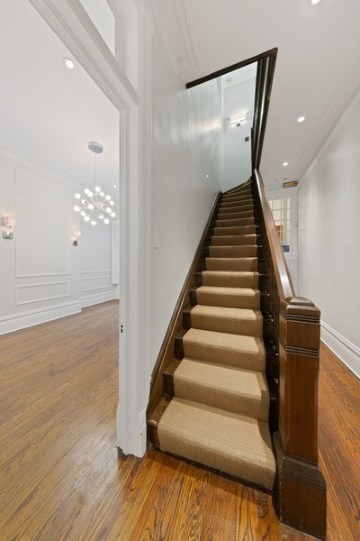 Real Estate Photography - 57 W Burton Place, Chicago, IL, 60610 - Staircase