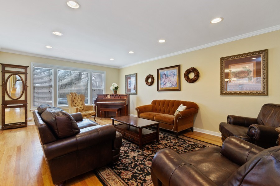 Real Estate Photography - 15 Thatcher Ave, River Forest, IL, 60305 - Living Room