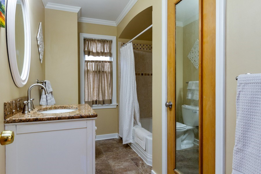 Real Estate Photography - 15 Thatcher Ave, River Forest, IL, 60305 - 1st Floor Full Bath