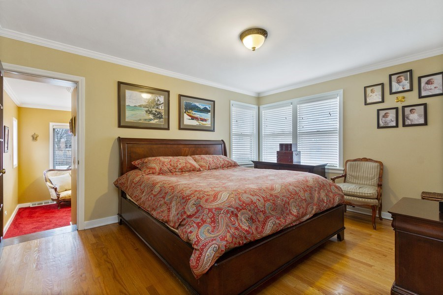 Real Estate Photography - 15 Thatcher Ave, River Forest, IL, 60305 - Master Bedroom