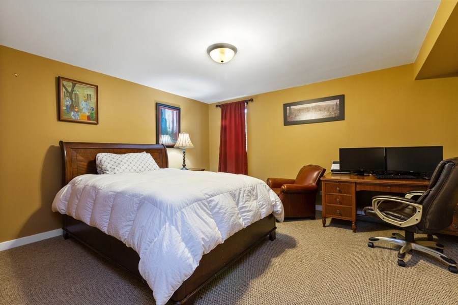 Real Estate Photography - 15 Thatcher Ave, River Forest, IL, 60305 - Bedroom #4 - Lower Level
