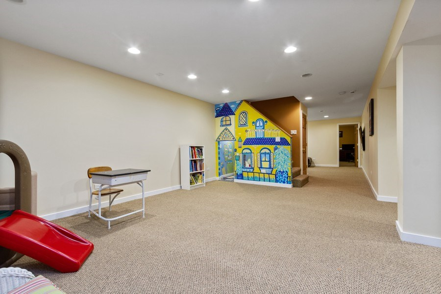 Real Estate Photography - 15 Thatcher Ave, River Forest, IL, 60305 - Rec Room