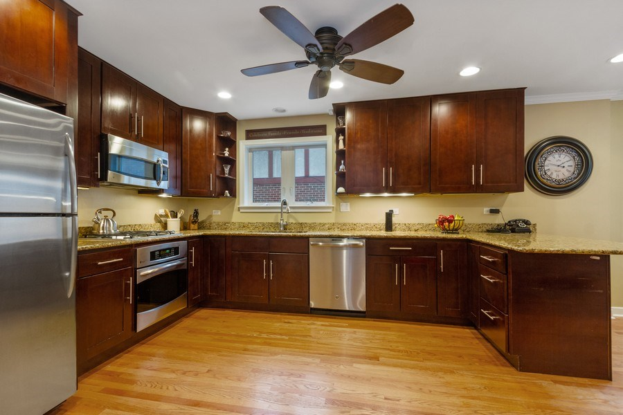 Real Estate Photography - 15 Thatcher Ave, River Forest, IL, 60305 - Kitchen