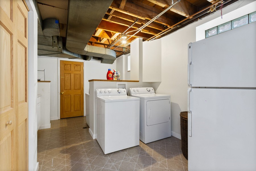 Real Estate Photography - 15 Thatcher Ave, River Forest, IL, 60305 - Laundry Room