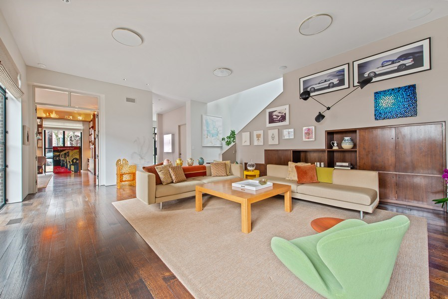 Real Estate Photography - 2517 N Greenview, Chicago, IL, 60614 - Living Room