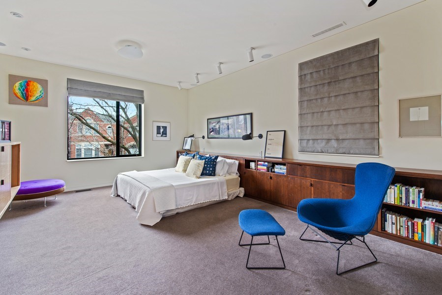 Real Estate Photography - 2517 N Greenview, Chicago, IL, 60614 - Master Bedroom