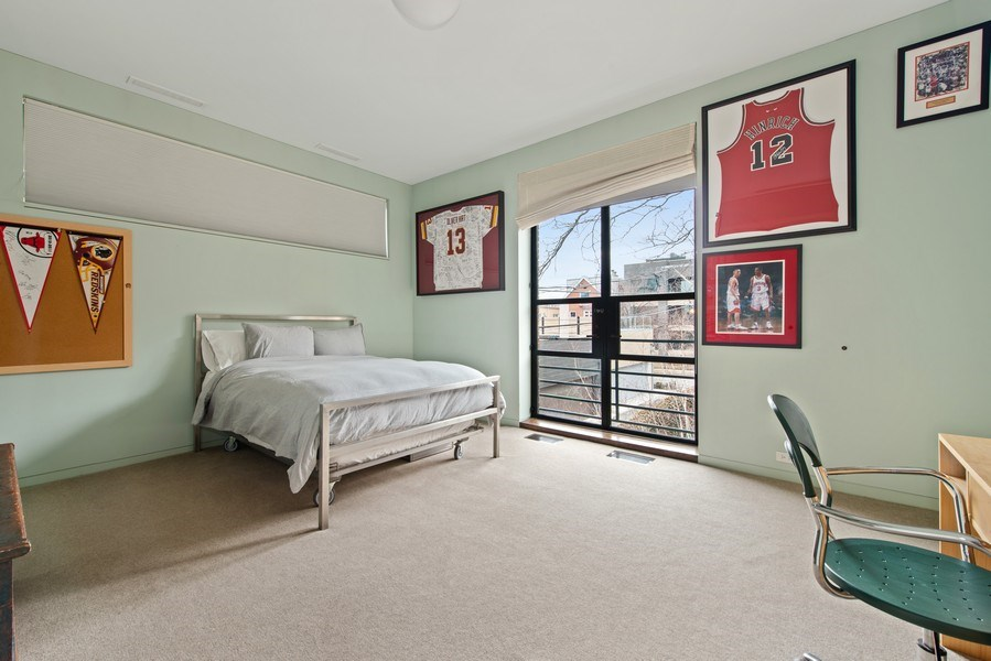 Real Estate Photography - 2517 N Greenview, Chicago, IL, 60614 - 2nd Bedroom