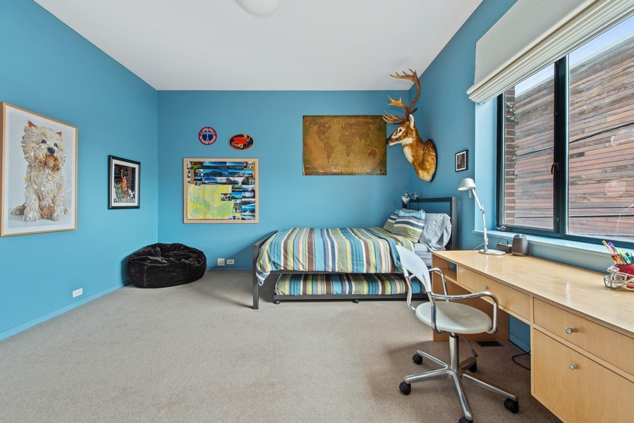Real Estate Photography - 2517 N Greenview, Chicago, IL, 60614 - 3rd Bedroom