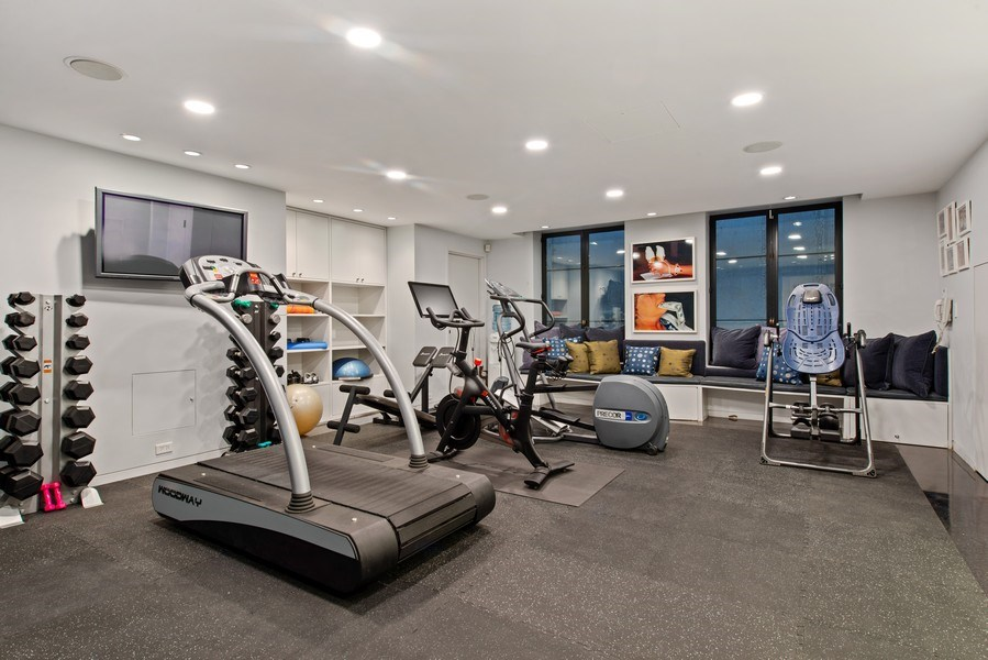 Real Estate Photography - 2517 N Greenview, Chicago, IL, 60614 - Gym