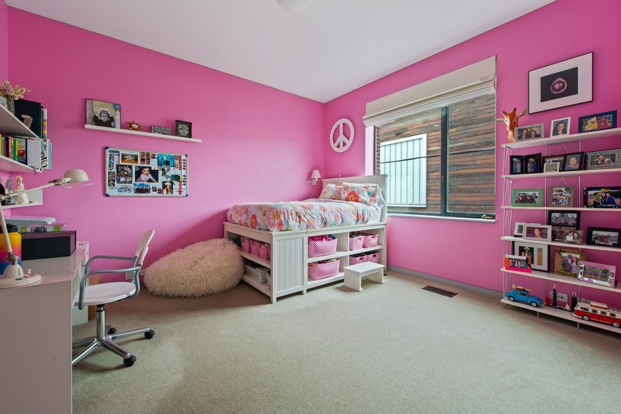 Real Estate Photography - 2517 N Greenview, Chicago, IL, 60614 - 4th Bedroom