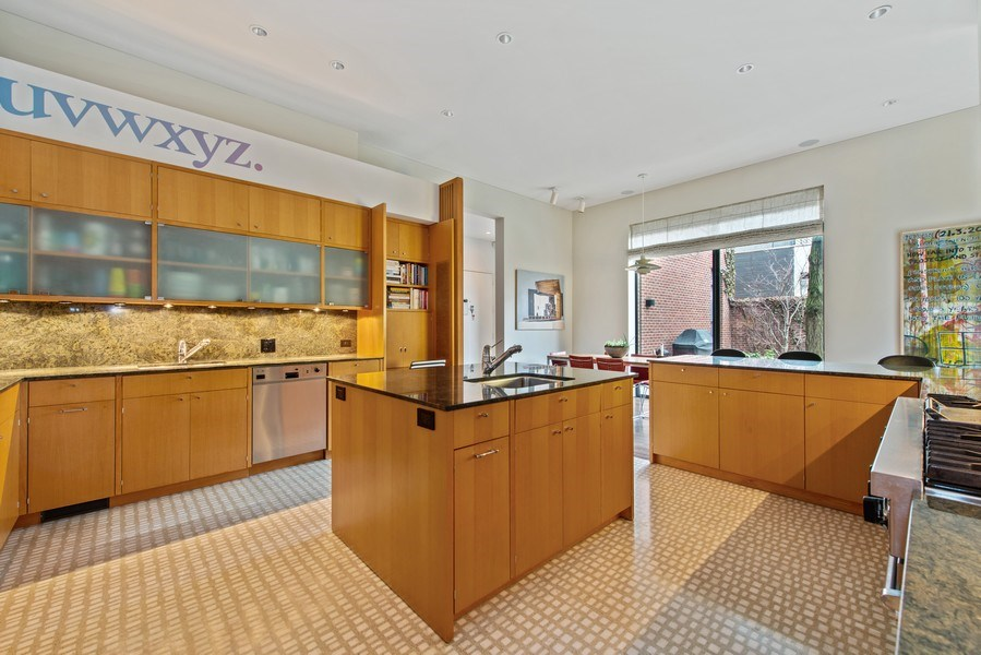 Real Estate Photography - 2517 N Greenview, Chicago, IL, 60614 - Kitchen