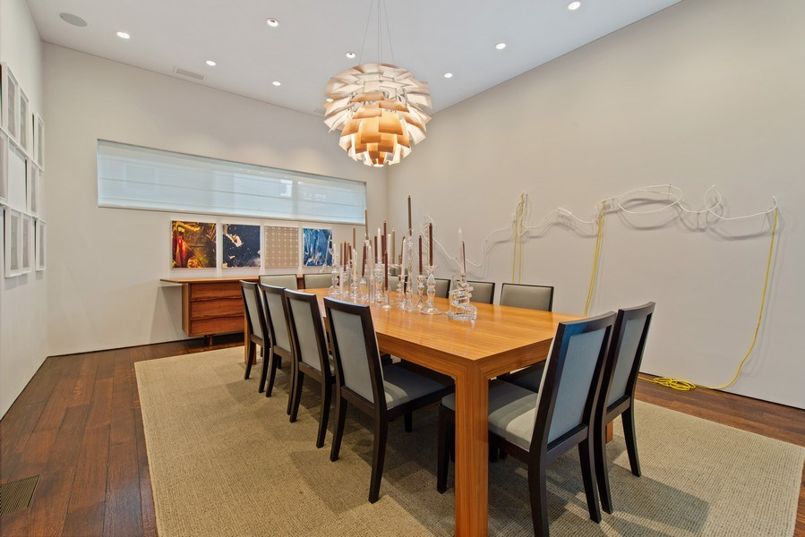 Real Estate Photography - 2517 N Greenview, Chicago, IL, 60614 - Dining Room