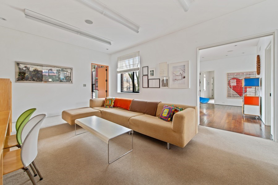 Real Estate Photography - 2517 N Greenview, Chicago, IL, 60614 - Den