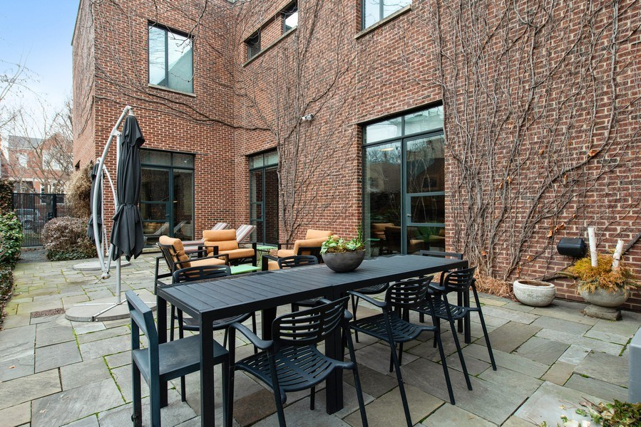 Real Estate Photography - 2517 N Greenview, Chicago, IL, 60614 - Patio