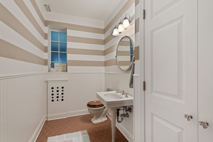Real Estate Photography - 1316 Maple, A3, Evanston, IL, 60201 - 3rd Bathroom