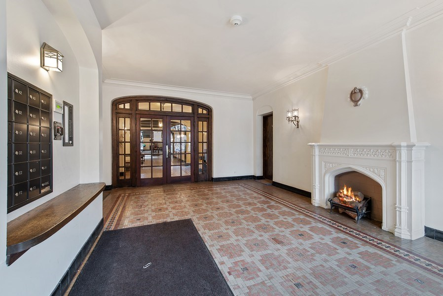 Real Estate Photography - 1316 Maple, A3, Evanston, IL, 60201 - Lobby