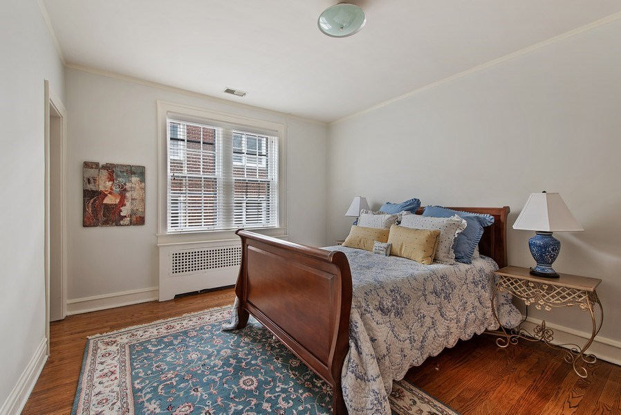 Real Estate Photography - 1316 Maple, A3, Evanston, IL, 60201 - 3rd Bedroom