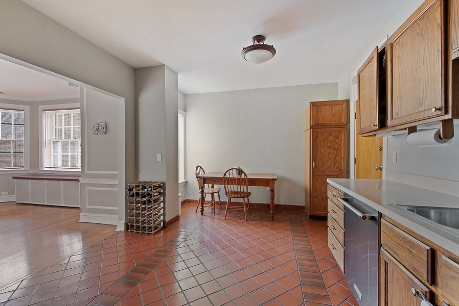 Real Estate Photography - 1316 Maple, A3, Evanston, IL, 60201 - Breakfast Area