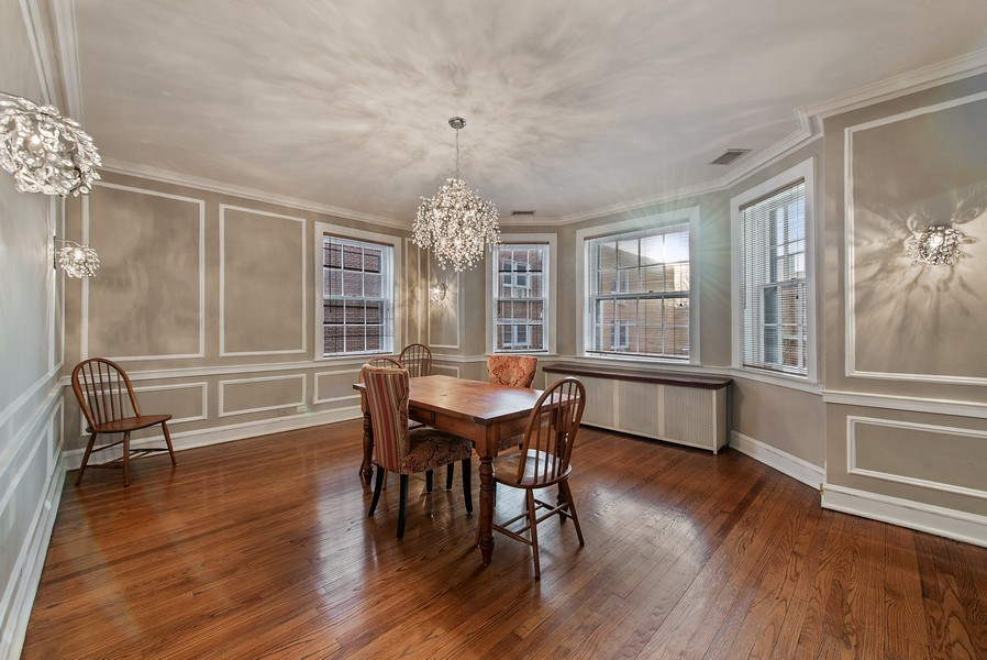 Real Estate Photography - 1316 Maple, A3, Evanston, IL, 60201 - Dining Room