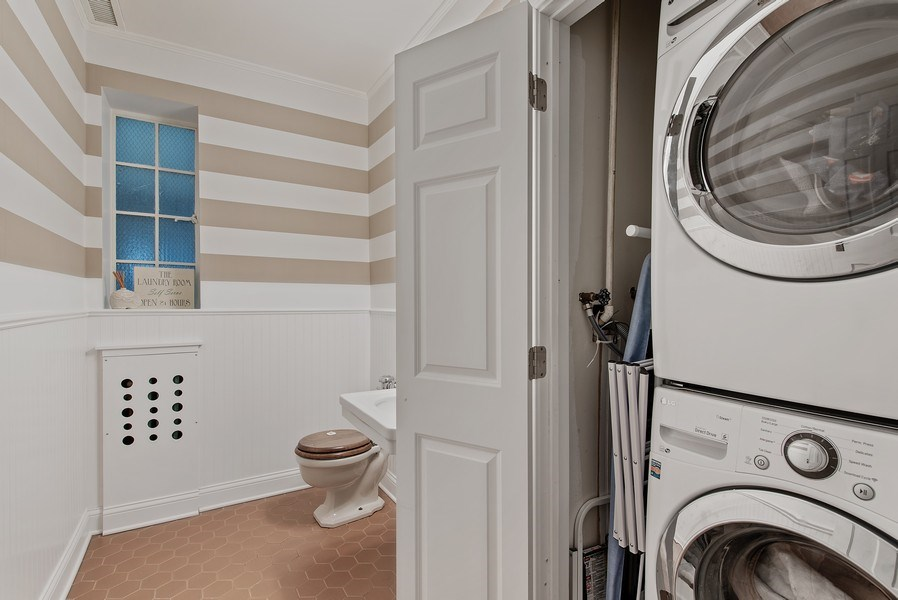 Real Estate Photography - 1316 Maple, A3, Evanston, IL, 60201 - Laundry Room