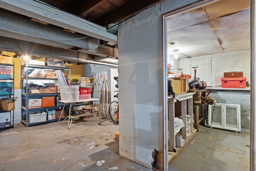 Real Estate Photography - 4719 N Leamington, Chicago, IL, 60630 - Lower Level