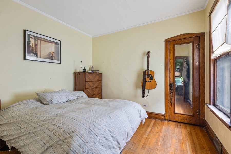 Real Estate Photography - 4719 N Leamington, Chicago, IL, 60630 - Bedroom