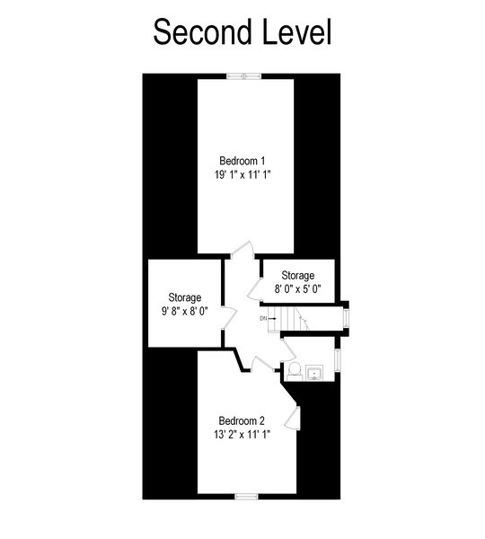 Real Estate Photography - 4719 N Leamington, Chicago, IL, 60630 - Floor Plan