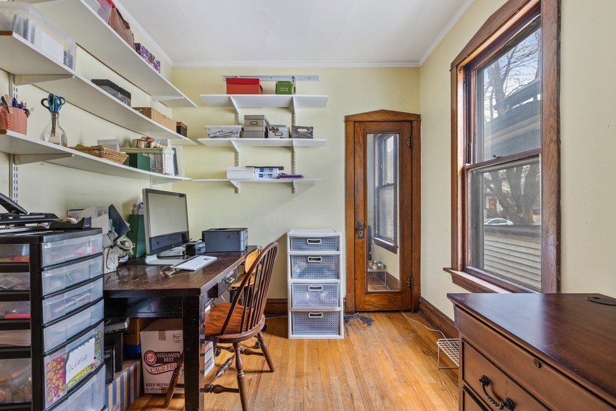 Real Estate Photography - 4719 N Leamington, Chicago, IL, 60630 - Office