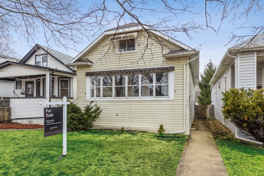 Real Estate Photography - 4719 N Leamington, Chicago, IL, 60630 - Front View