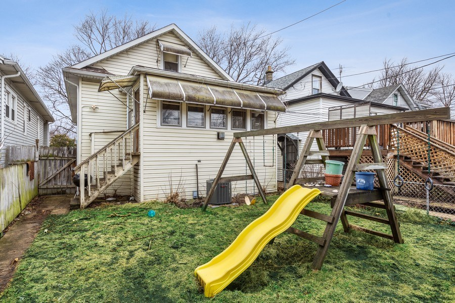 Real Estate Photography - 4719 N Leamington, Chicago, IL, 60630 - Rear View
