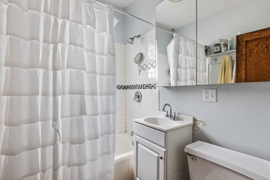 Real Estate Photography - 4719 N Leamington, Chicago, IL, 60630 - Bathroom