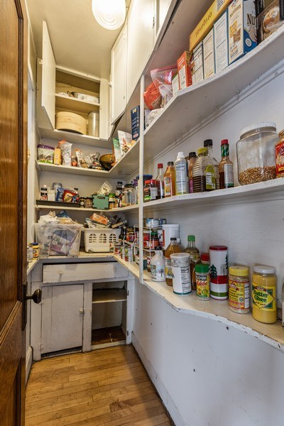 Real Estate Photography - 4719 N Leamington, Chicago, IL, 60630 - Pantry