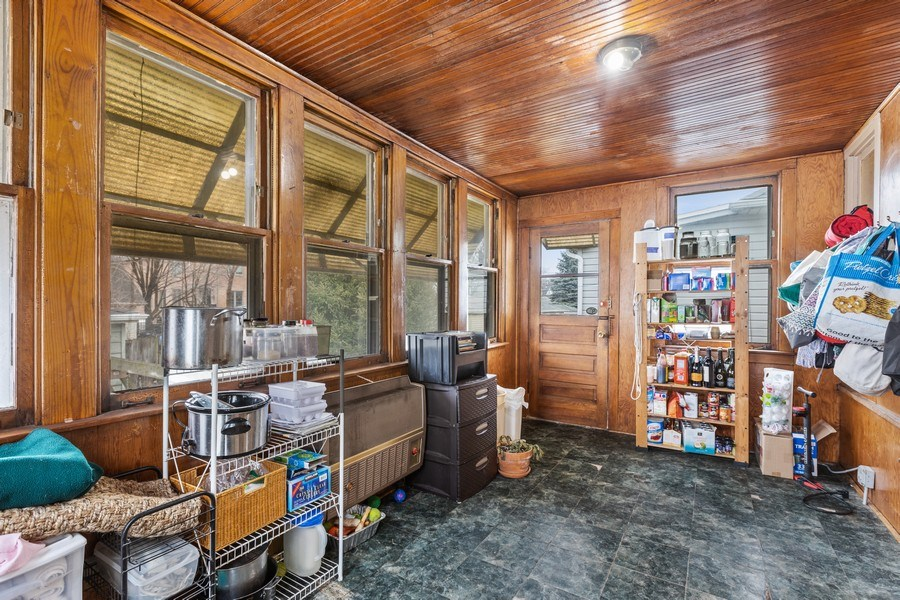 Real Estate Photography - 4719 N Leamington, Chicago, IL, 60630 - Sun Room