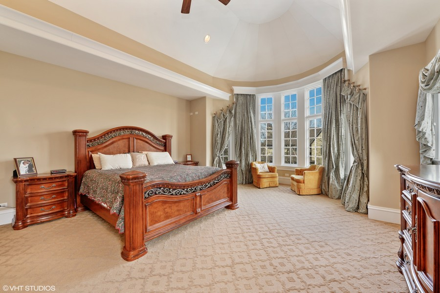 Real Estate Photography - 1754 Chicago Ave, Downers Grove, IL, 60515 - Master Bed