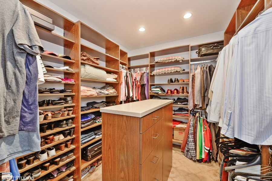Real Estate Photography - 1754 Chicago Ave, Downers Grove, IL, 60515 - Walk In Closet
