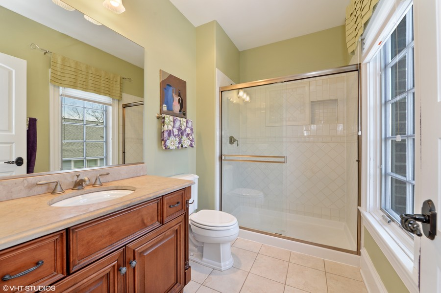 Real Estate Photography - 1754 Chicago Ave, Downers Grove, IL, 60515 - Bedroom 2 Bath